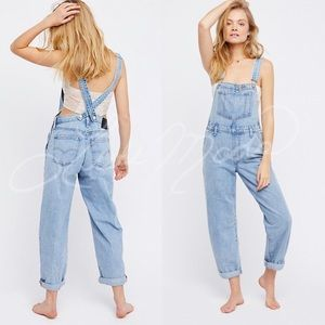 Levi's x Free People Baggy 90's Overalls NWT